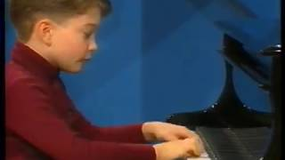 Mendelssohn, Spinning Song, Piano: Mark Ehrenfried (aged 8)