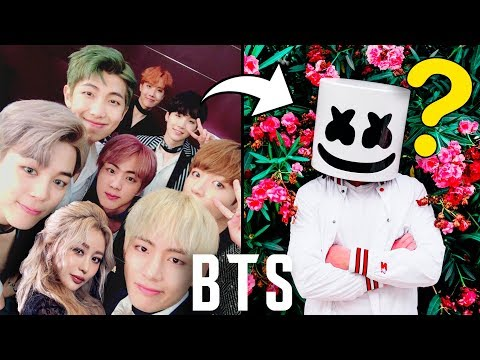 Wengie Gives Marshmello A BTS K-Pop Makeover!