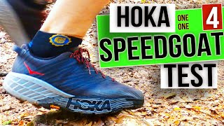 HOKA ONE ONE Speedgoat 4 review - Trail Running Test 2020