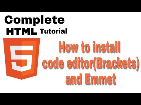 Php tutorial for beginners part 3 code editor installation.