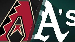 Corbin, strong offense power D-backs vs. A's: 5/25/18