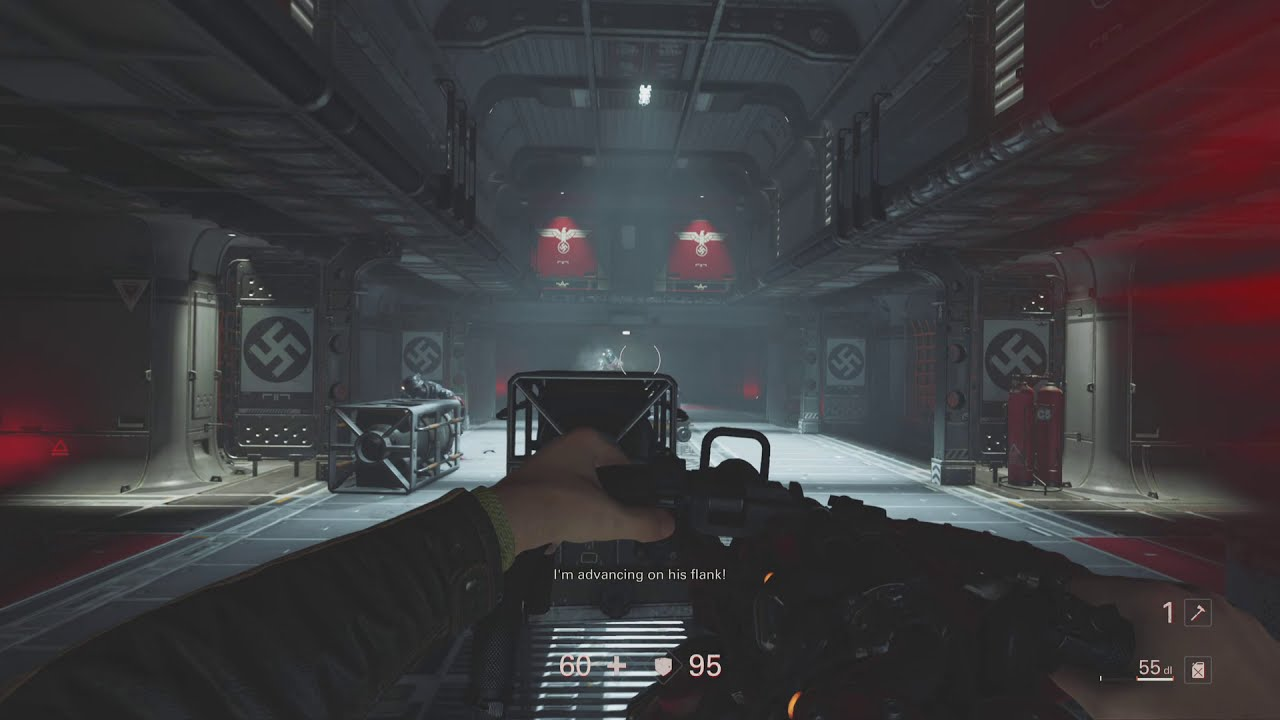 Wolfenstein 2: The New Colossus Runs Amazing On PS5 - Damn Hard Game - 60fps