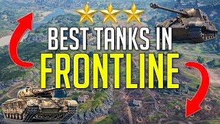 Best Tanks For The Frontline Mode ► World of Tanks: How To Frontline