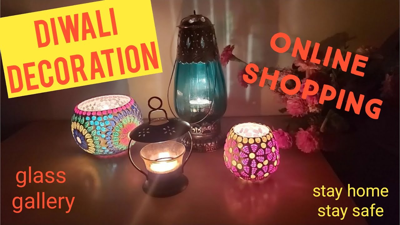 Diwali Shopping Home Decor Lighting Shopping Online Youtube