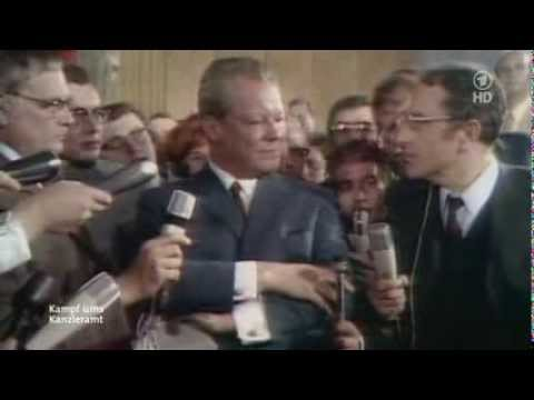 Willy Brandt Interview Wahlabend 1969