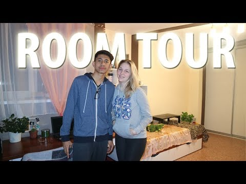College Dorm Room Tour - Tomsk, Russia
