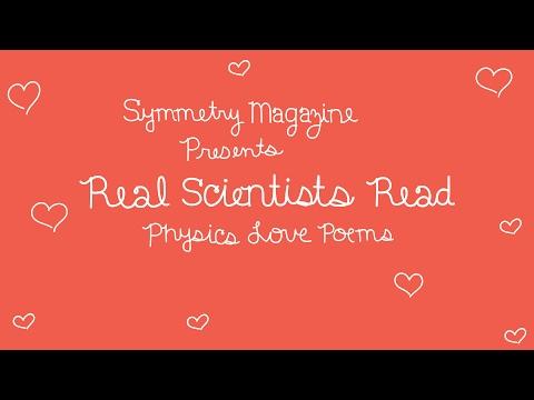 Physics love poems | symmetry magazine
