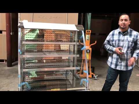 Commercial Open Refrigeration Display Case REFRIGERATOR MERCHANDISER Showcase