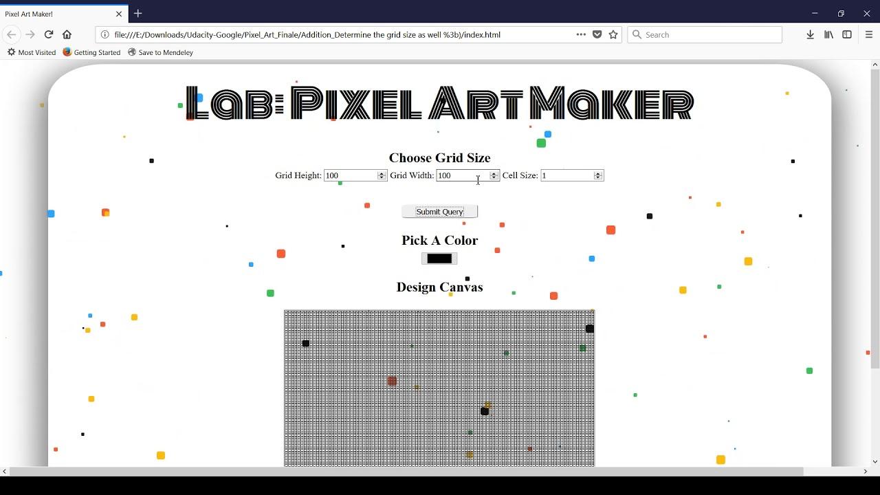 maxresdefault Pixel Art Maker Udacity @koolgadgetz.com.info