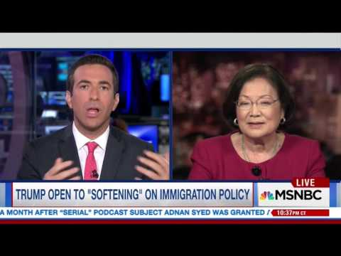 Senator Hirono: Donald Trump