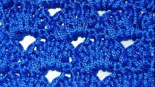 Узор Сводчатая галерея - Crochet pattern vaulted gallery - веера и ракушки крючком