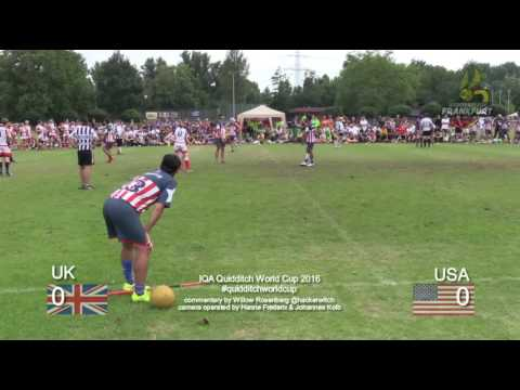 Quidditch World Cup 2016 - Semifinal - UK vs. USA