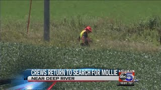 Crews return to search for Mollie Tibbetts