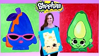 SHOPKINS Toy Paintings Do It Yourself Shopkins Season 2 Arts and Crafts for Kids by DCTC