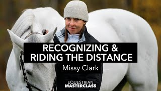 Missy Clark Teaches Recognizing & Riding the Distance to Every Jump