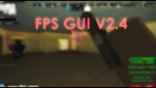 ROBLOX AIMBOT, ESP, STUDS! FPS GUI V2.4