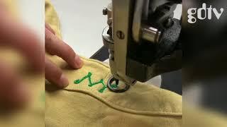 HIDDEN Chain Stitching Dugout Shirts