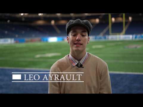 11/26/17 Leo Ayrault At Ford Field