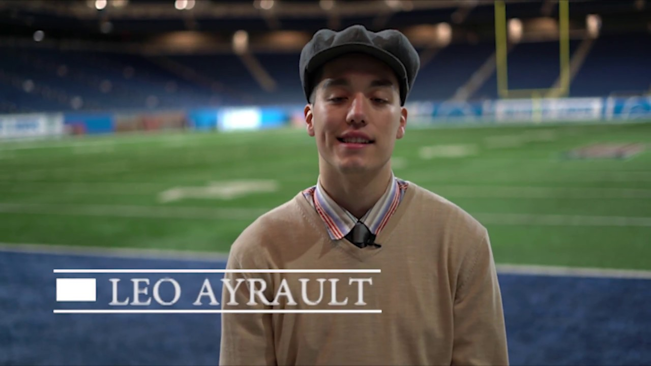 11/26/17 Leo Ayrault at Ford Field