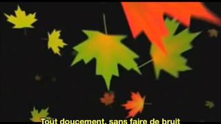 Mouloudji Les Feuilles Mortes (Version Complète) Autumn Leaves French & English Subtitles