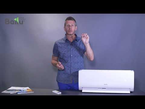 Сплит-система Ballu VISION PRO BSVP-12HN1 (видео 1)