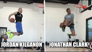 Jordan Kilganon & Jonathan Clark Go OFF at Dunk Camp! Video