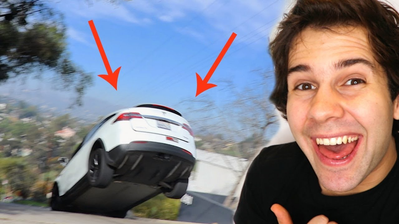 Download MY TESLA FLEW OFF THE GROUND!!