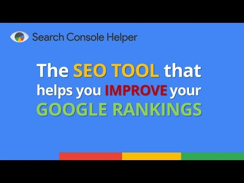 Search Console Helper - The #1 Keyword Tracking SEO Tool for Google