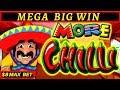 More More Chilli Slot Machine - MEGA BIG WIN | Buffalo Max Slot BONUS |Lightning Link Tiki Fire Slot