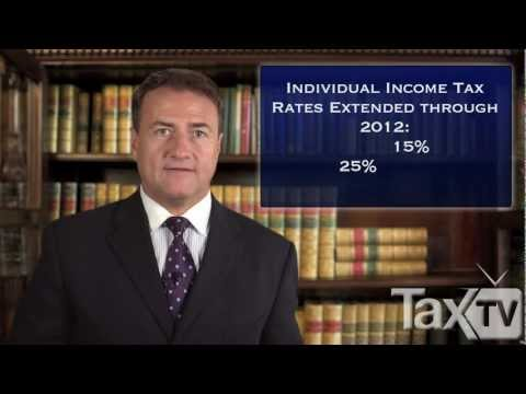 New Tax Laws 2011 Tax Season - www.TaxTV.com