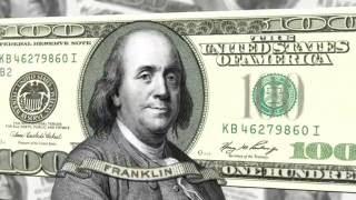Ben Franklin $100 3D Test Clip