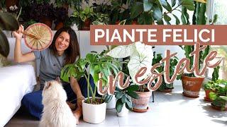 LE 7 REGOLE D'ORO | Come curare le piante in estate