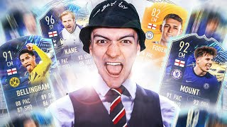 FUT CHAMPS w/ ENGLANDS EURO 2021 SQUAD - IT'S COMING HOME!! 🦁🏆