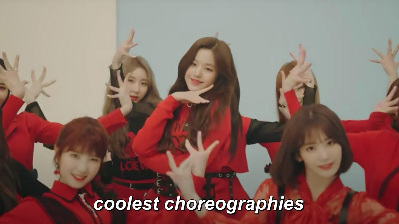 coolest kpop choreographies