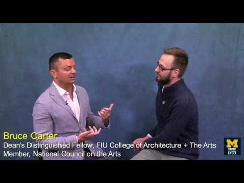 EXCELcast: Bruce Carter on Integrating Design into Arts Education