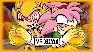FLEETWAY SUPER SONIC AND ROSY GO ON A BOWLING DATE IN VR CHAT