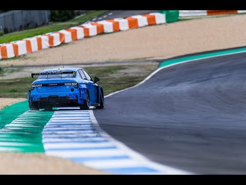 First video of Cyan Racing testing the all-new Lynk & Co 03 TCR race car