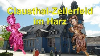 🌄🏰Clausthal Zellerfeld *Berg & Universitätsstadt im Oberharz *Niedersachsen*Marktkirche Clausthal