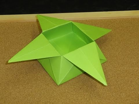 daily origami 046 basket