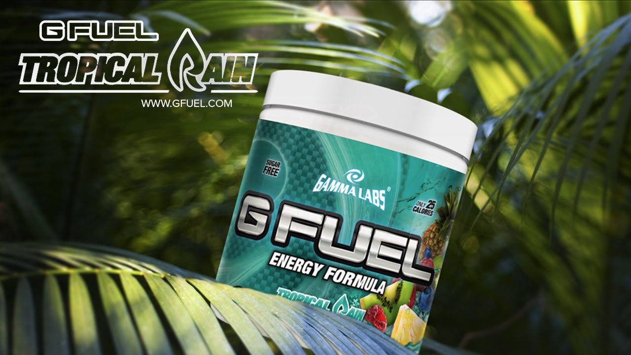 tropical rain g fuel world reveal youtube. Black Bedroom Furniture Sets. Home Design Ideas