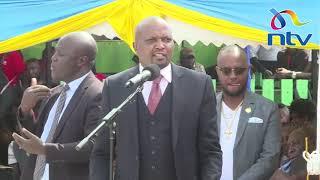 Moses Kuria responds to those accusing him of disrespecting President Uhuru