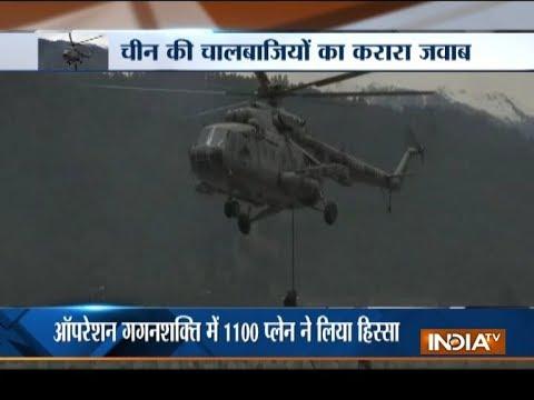 Operation Gagan Shakti: Defence Minister Nirmala Sitaraman take stock of IAF war exercise