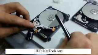 Western Digital Laptop Hard Drive Head Swap
