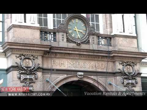 "Madison Square, Herald Square, Macy's & Flatiron Building, New York - ""Along Broadway"" Video Tours"