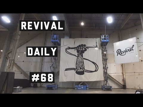 SET-UP OF HANDBUILT SHOW 2019 DAY 5! // REVIVAL DAILY #68