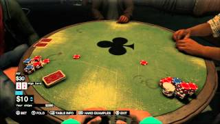 Easy Poker Game Win In 2 Hands! Watch Dogs!