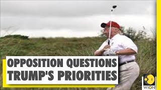 Trump plays golf for 1st time since the coronavirus pandemic   US News   World News