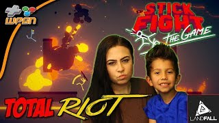 🎲 STICK FIGHT The Game - Total Riot and Funny Moments Gameplay