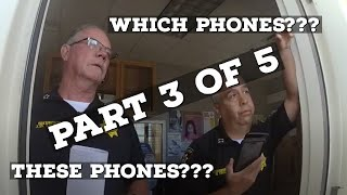 Out of Control Sheriff Served with Search Warrant by City Police!!! (Part 3 OF SHERIFF SCANDAL)