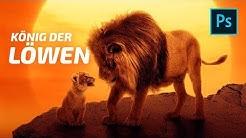 Der König der Löwen 2020 - Photoshop Tutorial Filmposter [deutsch] [2020]